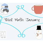 Think Math: January