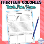 Think, Pair, Share Colonial America Review