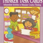 Thinker Task Cards to stimulate Thinking