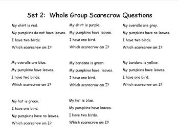 Thinking Activity Using Scarecrow Attributes