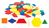 Thinking Kids'® Math Pattern Blocks  SALE 50% OFF! 146022