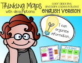 Thinking Maps with Descriptions {color, black line, and blank}