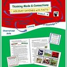Thinking Mode & Connections: Holiday Sayings with Facts