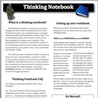 Thinking Notebook