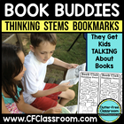 Thinking Stems Bookmarks (Common Core: 1.RL.1, 2.RL.1, 3.R