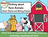 Thinking about Farm Animals: Smart Charts and Writing Frames