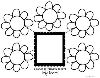 Thinking about Mom: Smart Charts and Writing Frames