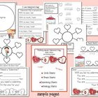 Thinking about Valentine's Day: Smart Charts and Writing Frames