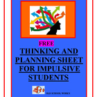 Thinking and Planning Sheet