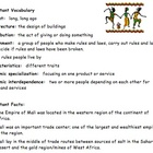 Third-Grade Ancient Mali Study Guide VA SOL 3.2