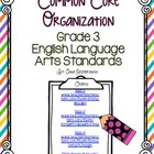 Third Grade CCSS Organization Set RLA