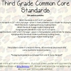 Third Grade Common Core Brown Leopard