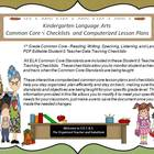 Third Grade Common Core Language Arts Checklists and Drop