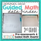 Third Grade Common Core Math - Pre-Assessments &amp; Guided Ma