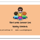 Third Grade Common Core Reading Standards
