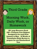 Third Grade Morning Work Daily Common Core