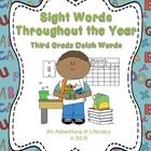 Third Grade Dolch Sight Words Throughout the Year Game