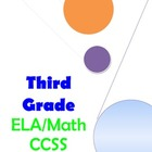 Third Grade ELA and Math CCSS Checklist