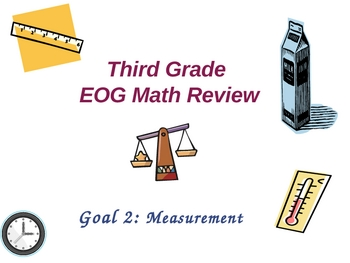 Third Grade EOG Math Review-- Goal 2: MEASUREMENT