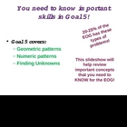 Third Grade EOG Math Review-- Goal 5 (Algebra and Patterns)