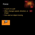 Third Grade Force and Work powerpoint