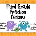 Third Grade Fraction Centers