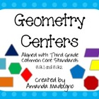 Third Grade Geometry Centers