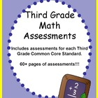 Third Grade Math Assessments Common Core