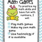 Third Grade Math Centers: Math Games