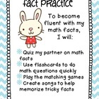 Third Grade Math Centers: Fact Practice