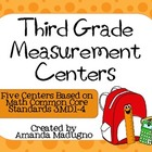 Third Grade Measurement Centers - 3.MD.1-4