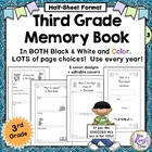 Third Grade Memory Book: Tales of a Third Grade Someone! A