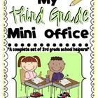 Third Grade Mini-Office {Dolch sight words, Comprehension,