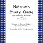 Third Grade Nutrition Study Guide