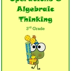 Third Grade Operations and Algebraic Thinking Resources