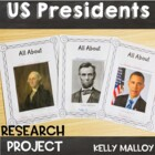 Third Grade Presidents Research Writing Project