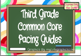 Third Grade Quarterly Pacing Guides- Editable
