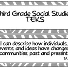 Third Grade Social Studies TEKS