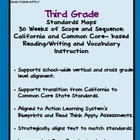 Third Grade Standards Maps-California Literacy Standards w