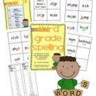 Third Grade Treasures Weekly Spelling Lists and Spelling Cards