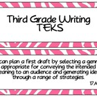 Third Grade Writing TEKS
