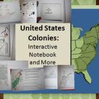 13 Colonies: Interactive Notebook & Tests (5th and 8th Grades)