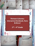 13 Colonies: Interactive Notebook, Test, and Extensions (2