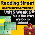 This Is the Way We Go to School SmartBoard Companion Readi