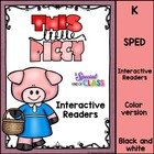 This Little Piggie Interactive Easy Readers