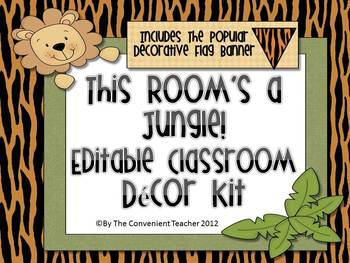 This Room's A Jungle: Decorative Room Kit