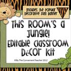 This Room&#039;s A Jungle: Decorative Room Kit