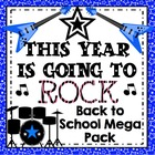 This Year is Going To Rock! Back to School Rock and Roll C