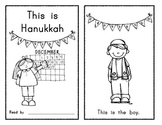 This is Hanukkah (sight word) Emergent Reader / Holidays A