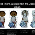 Thom - A Clip Art PowerPoint Student